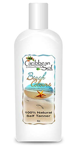 Caribbean Solutions Beach Colours Natural Self Tanner 6 oz ()