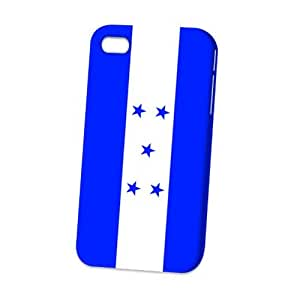 Case Fun Apple iPhone 4 / 4S Case - Vogue Version - 3D Full Wrap - Flag of Honduras (World Cup)