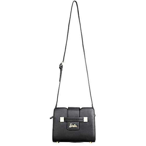 Barbie Bags Women's Leather Shoulder Bbfb502 black Crossbody Casual Business HHYrP
