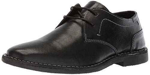 Steve Madden Men's Import Oxford Black Leather 10.5 M US