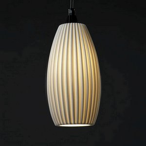 Large Oval Pendant Light in Florida - 8