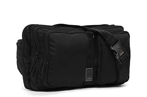 Chrome BG-240-ALLB Black 9L MXD Segment Sling Bag ()