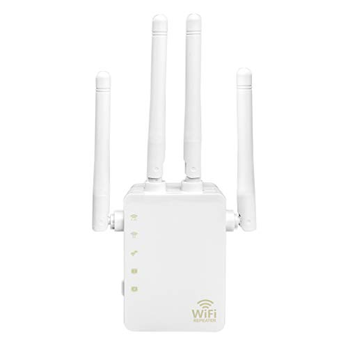 WiFi Range Extension Repeater, New 5GHz and 2.4GHz Dual-Frequency 1200Mbps WiFi Repeater Wireless Signal Booster, 360-degree Full Coverage WiFi Extended Signal Amplifier with AP/Repeater Mode