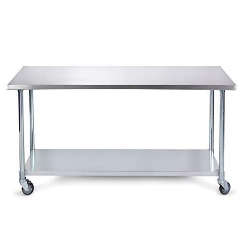 Stainless Tables With Wheels Photo Trend Ideas - 36 x 48 stainless steel table