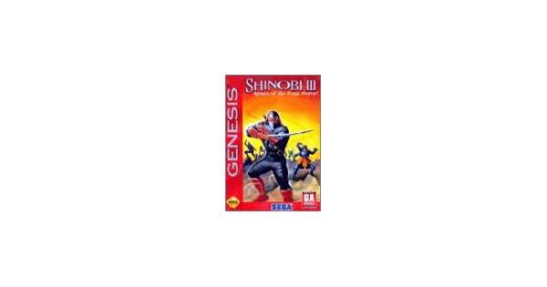 Amazon.com: Shinobi III: Return Of The Ninja Master: Unknown ...