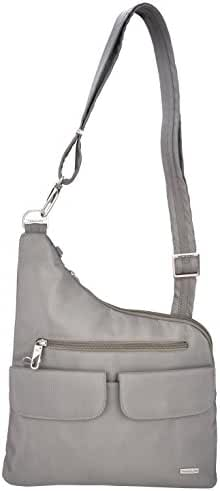 Travelon Anti-Theft Cross-Body Bag, Two Pocket