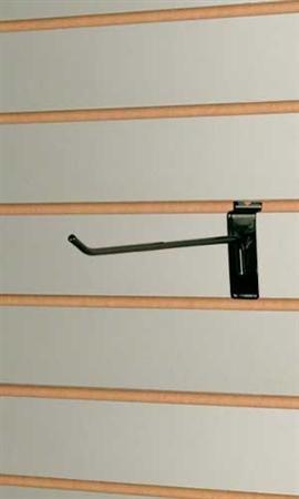 50 Black 4'' Slatawall Hooks & 50 Black 6'' Slatwall Hooks by Only Garment Racks