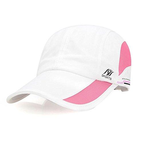 YING LAN Unisex Sun Hat Folding Portable Outdoor Hat Adjustable Waterproof Quick Dry Sports Baseball Cap