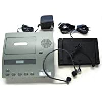 Reconditioned Dictaphone Model 2740 Standard Size Cassette Tape Transcriber with New Headset, Foot Pedal & Power Supply