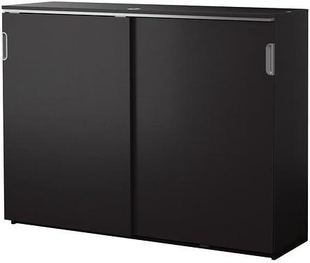 IKEA armario con puertas correderas, marrón 1828.14115.214: Amazon ...