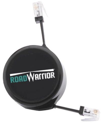 Retractable Cord Rj11 Modem Cable - Road Warrior RWADPT66-R ConnectCord Retractable Phone Cord (RJ-11)