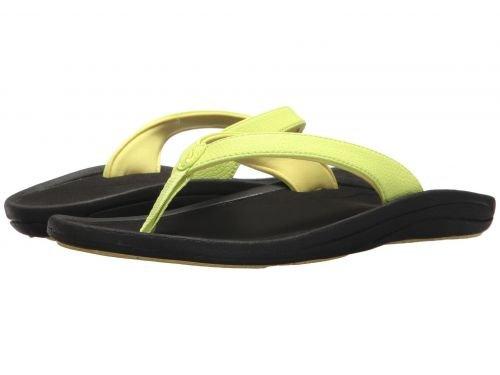 Olukai(オルカイ) レディース 女性用 シューズ 靴 サンダル Kulapa Kai W - Pineapple/Black 7 B - Medium [並行輸入品]