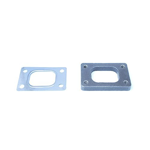- Rev9Power Rev9_AC-044; Stainless Steel Flange And Gasket For T25 Turbocharger