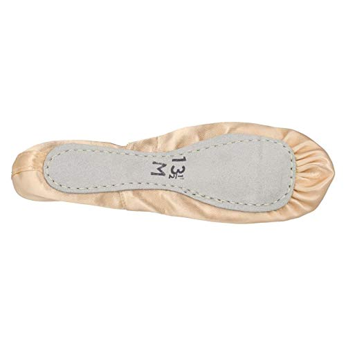 Spot Ballet Shoes Soft Childrens Pink Satin On Sole qrAvpxwq