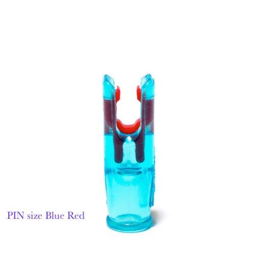 Accunock Pin Nock (Blue Body-Red Insert)