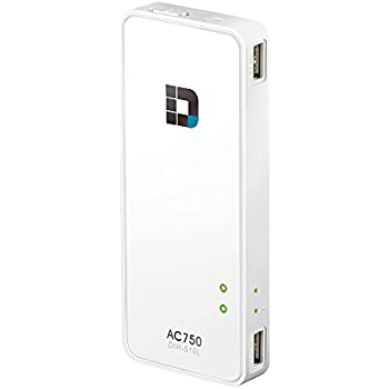 Amazon Com D Link Systems Wi Fi Ac750 Portable Router And Charger Dir 510l Computers