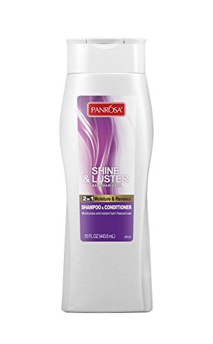 Panrosa Essentials 2-in-1 Moisture and Renewal Shampoo & Conditioner, 15 Fluid Ounce Renewal 2in 1 Shampoo Conditioner