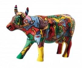 Cowparade/ m/édium Moo York Celebration 47422 /Mucca Cow Parade