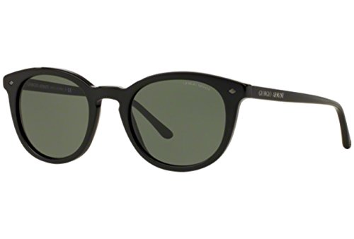 Green Soleil Armani Homme Lunettes de Black Emporio Noir Wwzq8Zg00