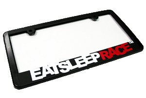 EAT SLEEP RACE License Plate Frame for sale  Delivered anywhere in USA