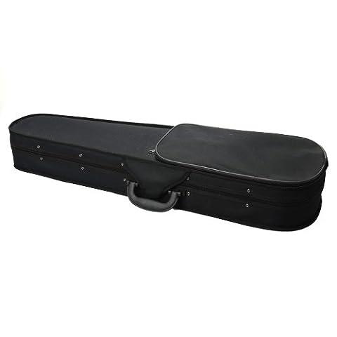 Z ZTDM 4/4 Full Size Violin Hard Case Professional Triangular Shape Black (Violin Case 4 4 Hard)
