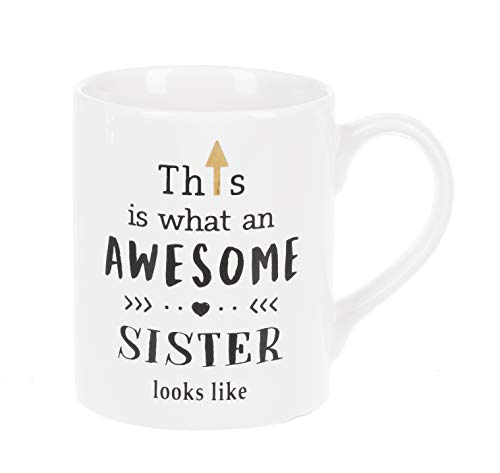 - Ganz This is What an Awesome Sister Looks Like Ceramic Mug