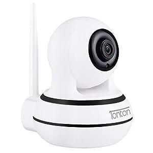 Flashandfocus.com 319BWXPMYgL._SS300_ Home Wireless Camera,1080P Full HD WiFi Camera Baby Monitor,Pan/Tilt/Zoom IP Dome Camera for Elder/Nanny Security Cam…