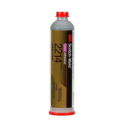 3M Scotch-Weld Epoxy Adhesive 2214 Regular Gray, 6 fl oz, 6 per case