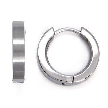 Amazon Titanium Huggie Hoop Earrings Mens Hoop Earings Jewelry