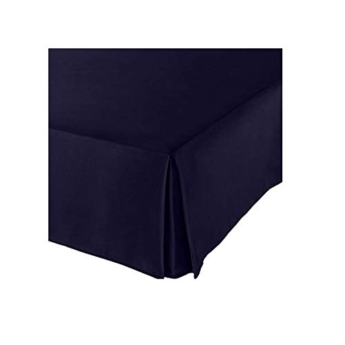 Tailored Bed Skirt Solid Dark Brown 500 TC SPLIT Corner All Size Drop Length New