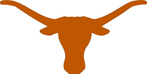 Set of (2) Texas Longhorns Die-Cut Vinyl Auto Decal or Laptops, Yeti, Gear. Comes in different sizes. Select from the option menu.