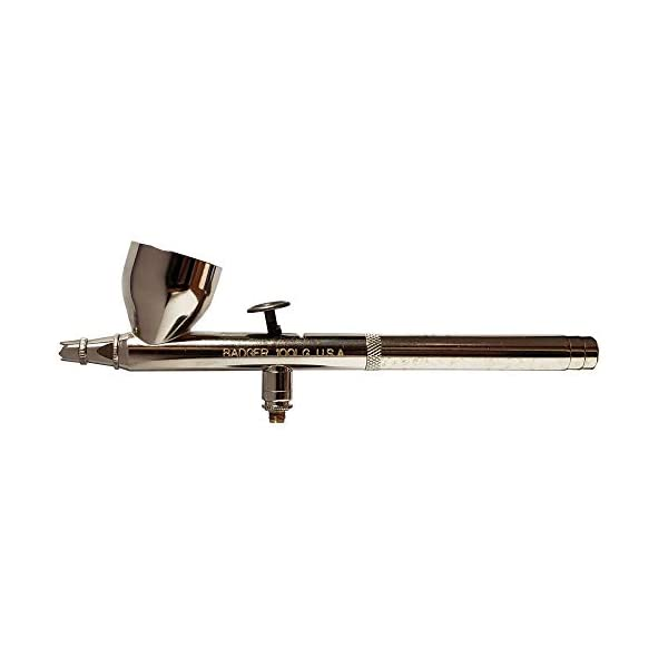 Badger-Air-Brush-Co-100-5-LG-F-Gravity-Feed-Fine-Head-Airbrush-Large-Cup-LG-Airbrush