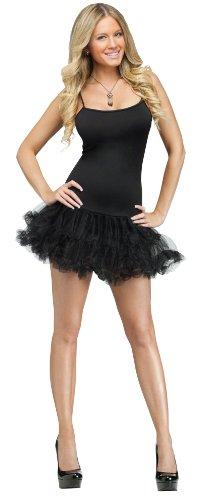 Fun World Women's Pettidress Costume, black Med/Lrg ()