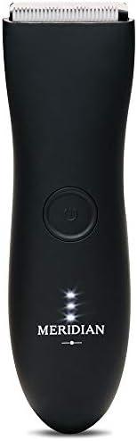The Trimmer by Meridian: Electric Below-The-Belt Trimmer Built for Men | Effortlessly Trim Pesky Hair | Waterp