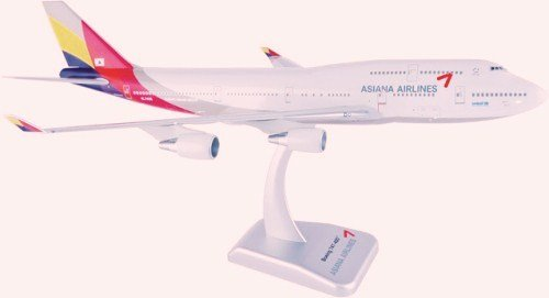 1/200 B747-400 アシアナ航空 新塗装 ダイキャスト完成品 3985GR