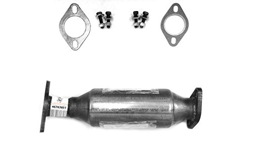 TED Direct-Fit Catalytic Converter Fits: 06-10 Hyundai Azera/06-07 Hyundai Sonata/07-09 Kia Amanti 2.4L REAR