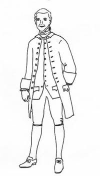 1770- (Will Turner Pirates Of The Caribbean Costume)