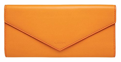 Lodis Accessories Women's Audrey Alix Trifold Maize/Coral Wallets (Lodis Lined Wallet)