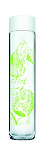 VOSS Artesian Sparkling Water, Lime Mint, 375 ml Glass Bottles (Pack of 12)