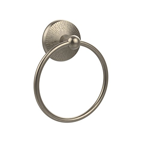 - Allied Brass MC-16-PEW Monte Carlo Collection Towel Ring Antique Pewter