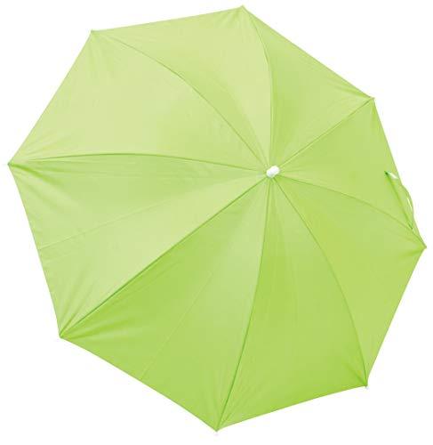 Rio Brands Beach Clamp-On Umbrella - Lime (Renewed)
