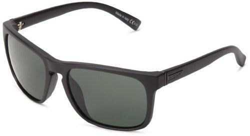 VonZipper Lomax Square Sunglasses,Black Satin,One - Wayfarer Zipper Von