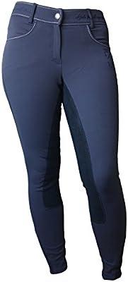 Pantalón de equitación para mujer Paraná HV Polo azul marino ...