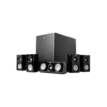 klipsch hd 500 compact 5 1 home theater system. Black Bedroom Furniture Sets. Home Design Ideas