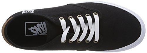 Herren w C6Z black Twill Sneakers Schwarz Vans CAMDEN 5wTxqf