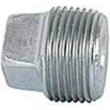 Imperial 98380 Galvanized Square Pipe Cored 1/8