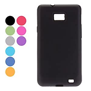 Durable Aluminium Alloy Hard Case for Samsung Galaxy S2 I9100 (Assorted Colors) , Silver