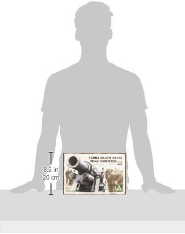 Takom Skoda 30.5cm M1916 Siege Howitzer 1:35 Plastic Model Kit by