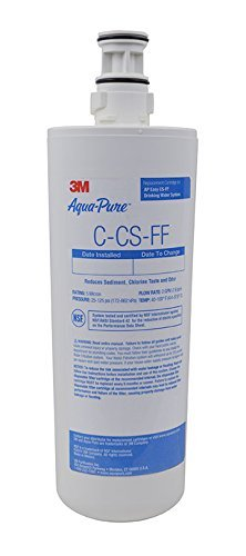 Aqua-Pure Water Filter Replacement Cartridge AP Easy C-CS-FF, Quick Change by 3M AquaPure