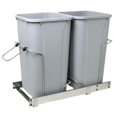 UPC 029274360504, Knape & Vogt 18.75 in. x 11 in. x 22 in. Cabinet Pull Out Soft Close Trash Can